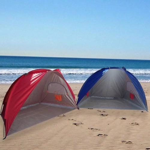 carpa playera camping tipo paraviento playa reforzada