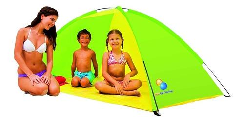 carpa playera para dos personas camping bestway 68044