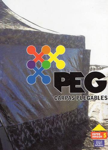 carpa plegable 4,50x3 hierro lona de pvc ofertaaaaa