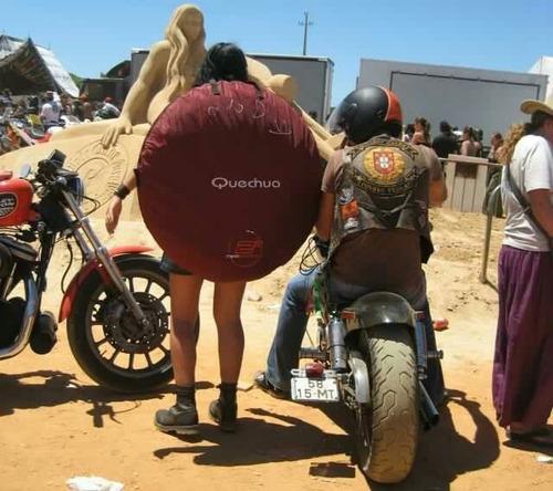 carpa quechua 2 segundos - 3 personas envío gratis