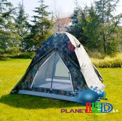 carpa tienda  camping para 4 personas impermeable montaña*