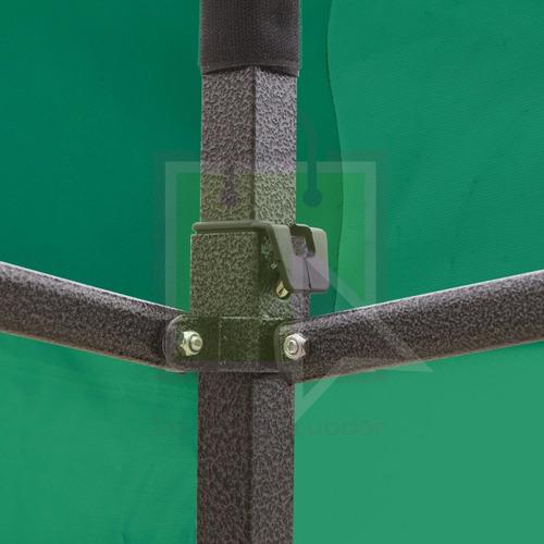 carpa verde 3x3 metros impermeable plegable reforzada