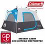 Carpa Instant Cabin Con Sistema Weathertec Coleman