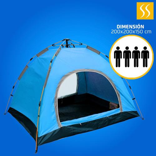 carpas automática camping campamento 4 persona incluye bolso