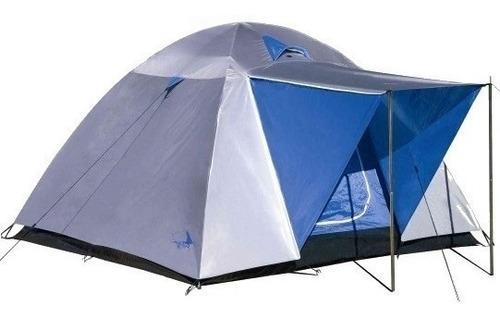 carpas camping 4 personas sobretecho aluminizada pesca caza