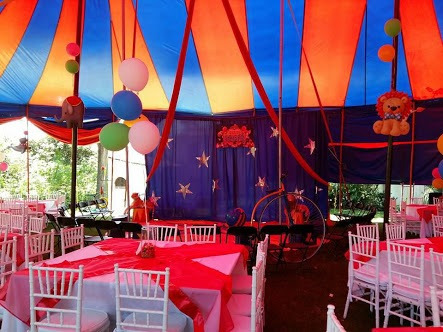 carpas de circo para fiestas y eventos privados en cdmx