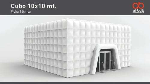 carpas inflables - cubos - domos - renta y venta