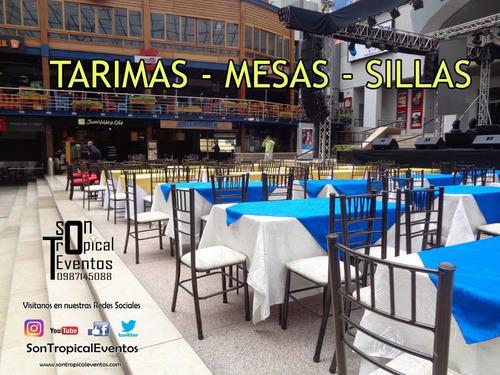 carpas tarima pistas baile  mesas sillas vajilla mariachi