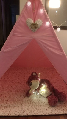 carpas teepees (tipo indio) infantiles