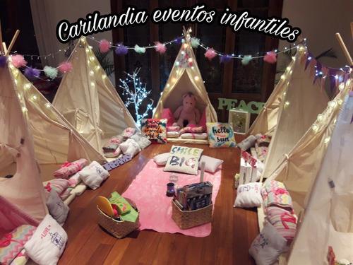 carpas tipis pijamadas party zona norte cumples carilandia