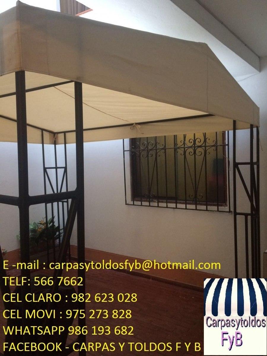 Carpas toldos f b exlusivo para patios s 1 00 en - Precios de toldos para patios ...