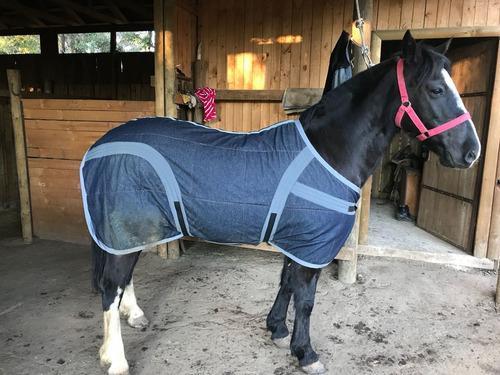 carpas/mantas para caballos de mezclilla