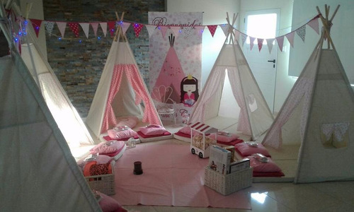carpas/tepees/princess & boys camp/pijamadas/$200 ¡oferta!