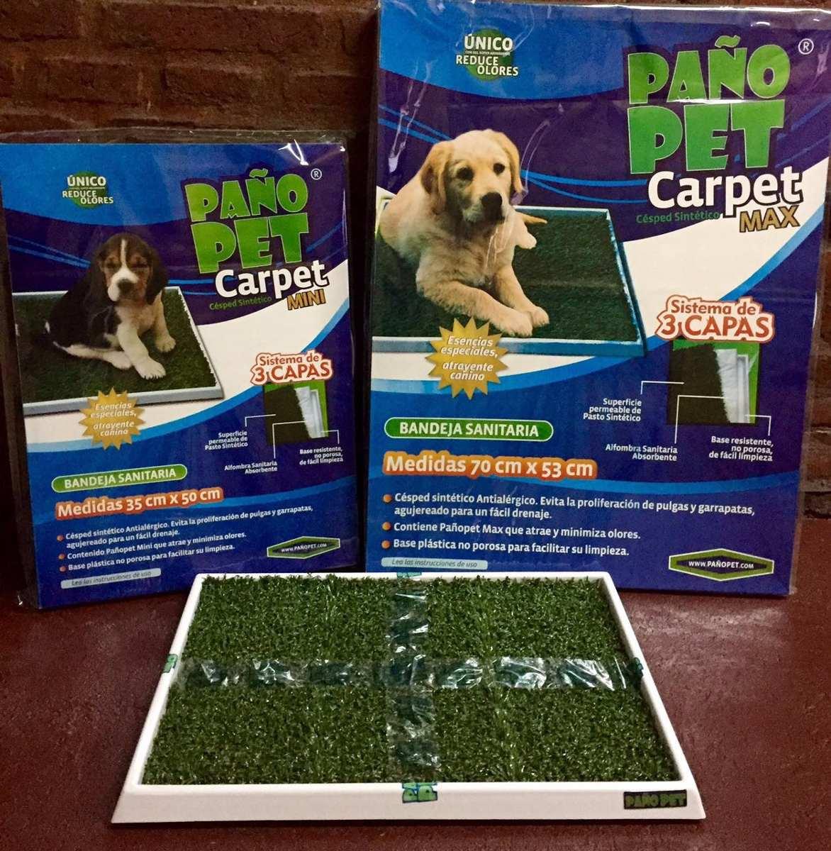 carpet max paño pet 50x70 cm (amplio stock)