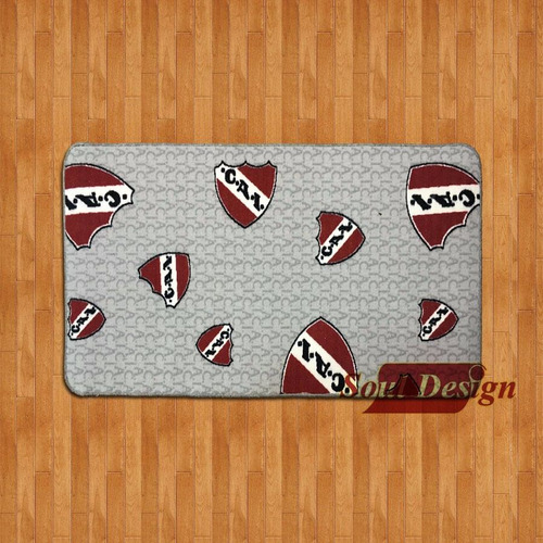carpeta alfombra futbol club independiente 67 x 120 cm soul