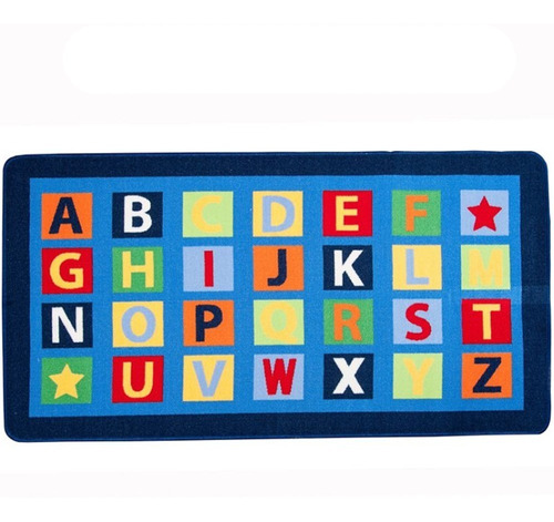 carpeta alfombra infantil rayuela grande letras calidad premium