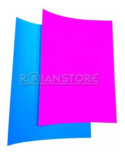 carpeta artel artecolor cartulina fluorescente 25x35 cm