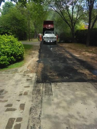 carpeta asfáltica bacheo- asfalto caliente - frío -pavimento