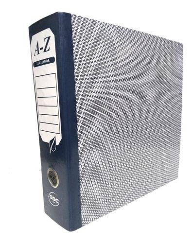 carpeta az (folder-archivador) carta-oficio-media carta