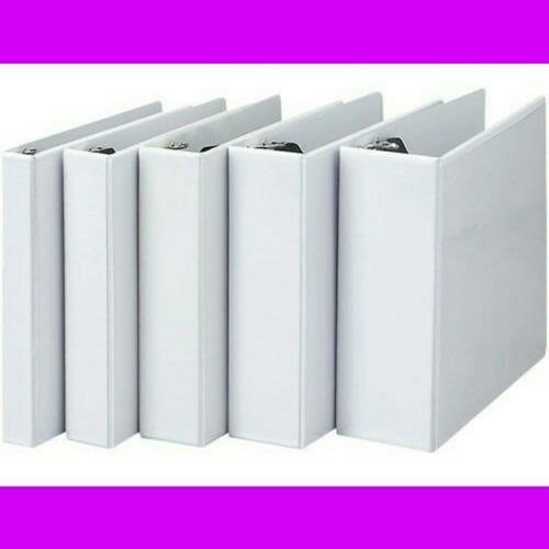 carpeta blanca de 3 aros de  2  dos pulgadas