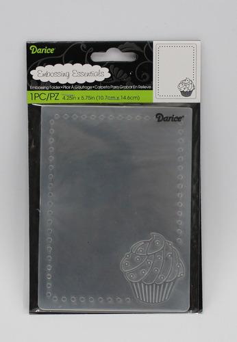 carpeta de embossing folder nº43 - darice