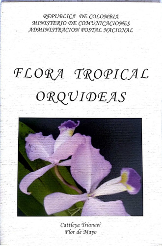 carpeta flora tropical orquídeas-2003 -filatelia-estampillas