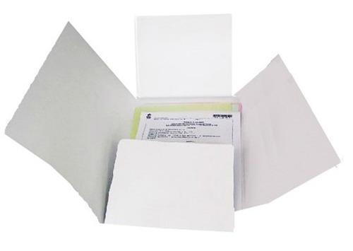 carpeta importada cuatro aletas desacificadas para archivos