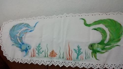 carpeta mantel camino de mesa decorativa para comedor