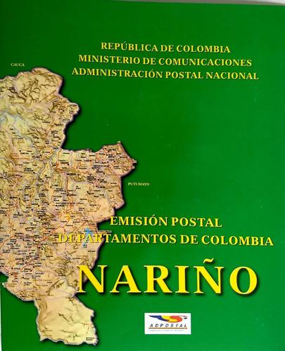 carpeta nariño colombia 2004-filatelia-estampillas