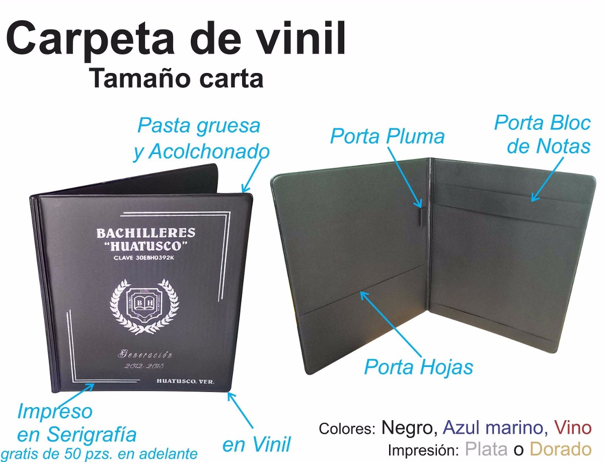 Carpeta T Carta Porta Documentos Graduacion 47 00