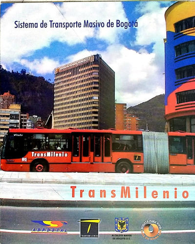 carpeta transmilenio -2003 -filatelia-estampillas