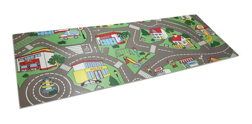 carpeta vinilica calles pista 70 x 200 cm espesor 2 mm soul