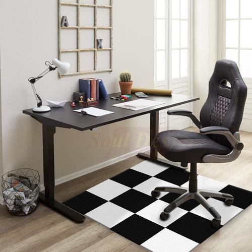 carpeta vinilica piso pvc damero 150 x 250 cm soul