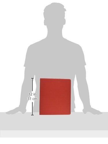 carpeta vinilo escuela inteligente  12 pulgadas  rojo