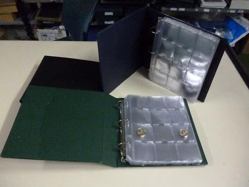 carpeta vk para coleccionar 180 monedas en cartones o sobres