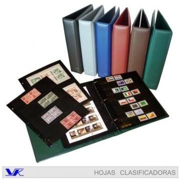 carpeta vk.estampillas - billetes - monedas carpe diem hobby