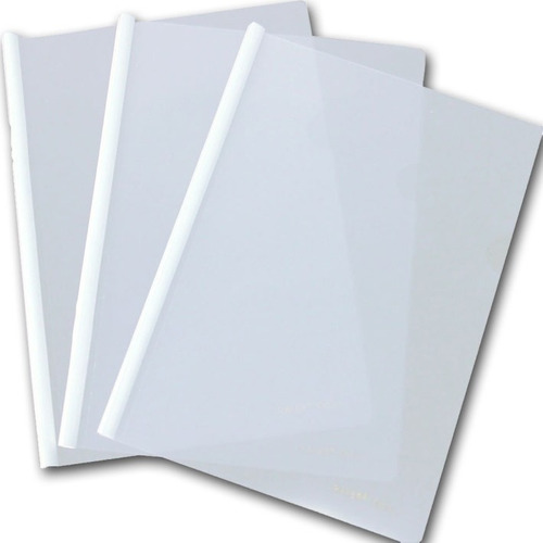 carpetas a4 rafer con vaina de pvc transparente x 12 unid.
