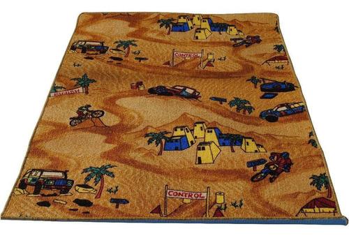 carpetas alfombras infantil dakkar 100x100cm kreatex