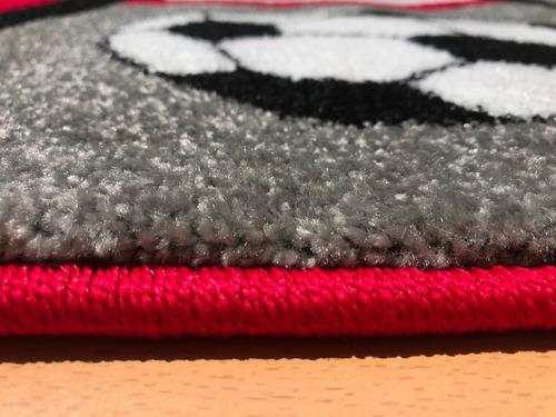 carpetas alfombras infantil sports 120x170cm kreatex