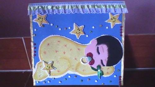 carpetas decoradas en foami