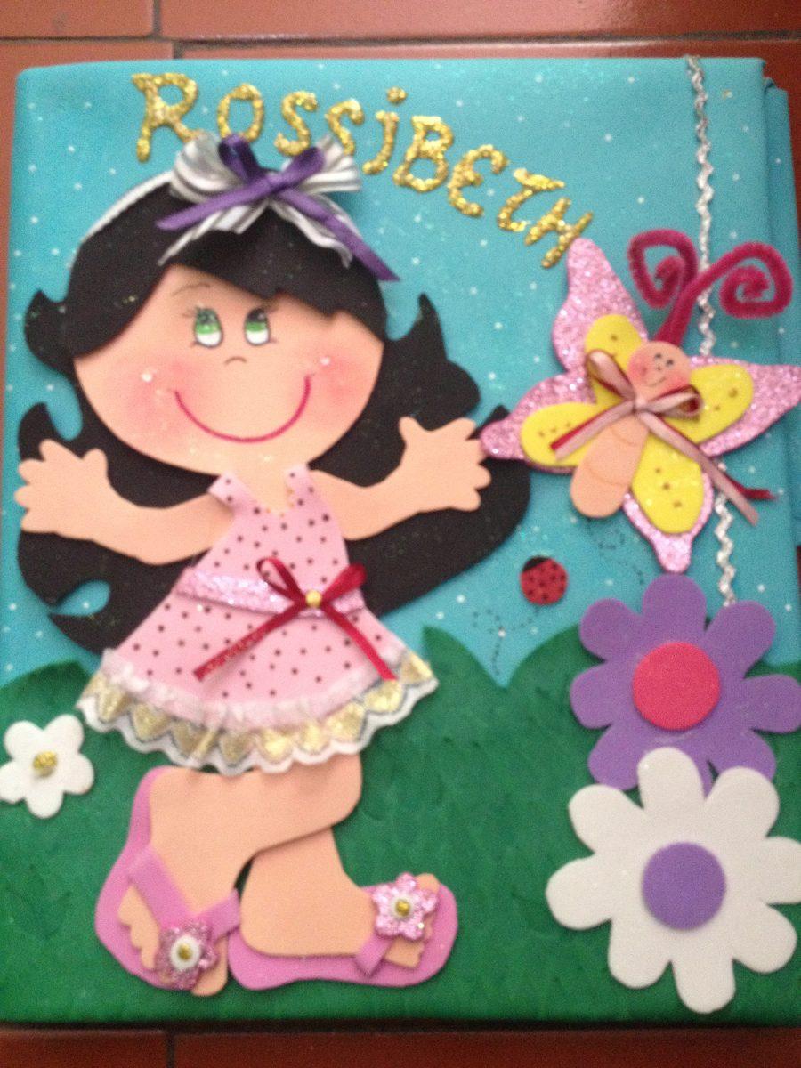 Carpetas decoradas en foami bs 18 00 en mercado libre - Imagen de manualidades ...