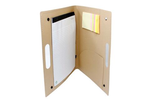 carpetas ecológicas personalizadas incluye bolck de notas.