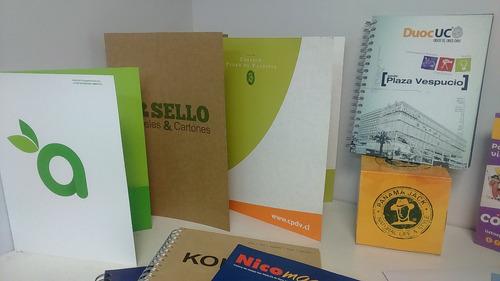 carpetas, flyers y tarjetas. pack grafico emprendedores