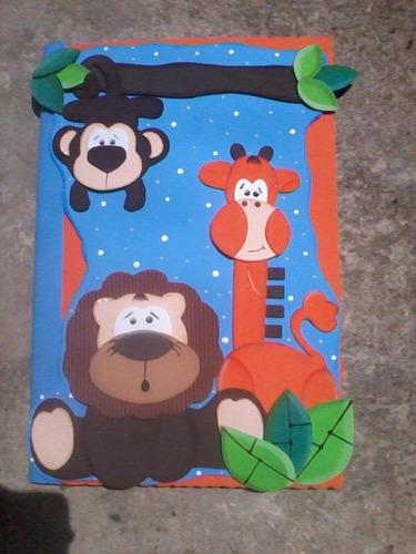 carpetas fomi sobres decoradas foami carpetas