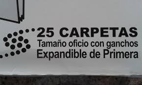 carpetas marrón oficio