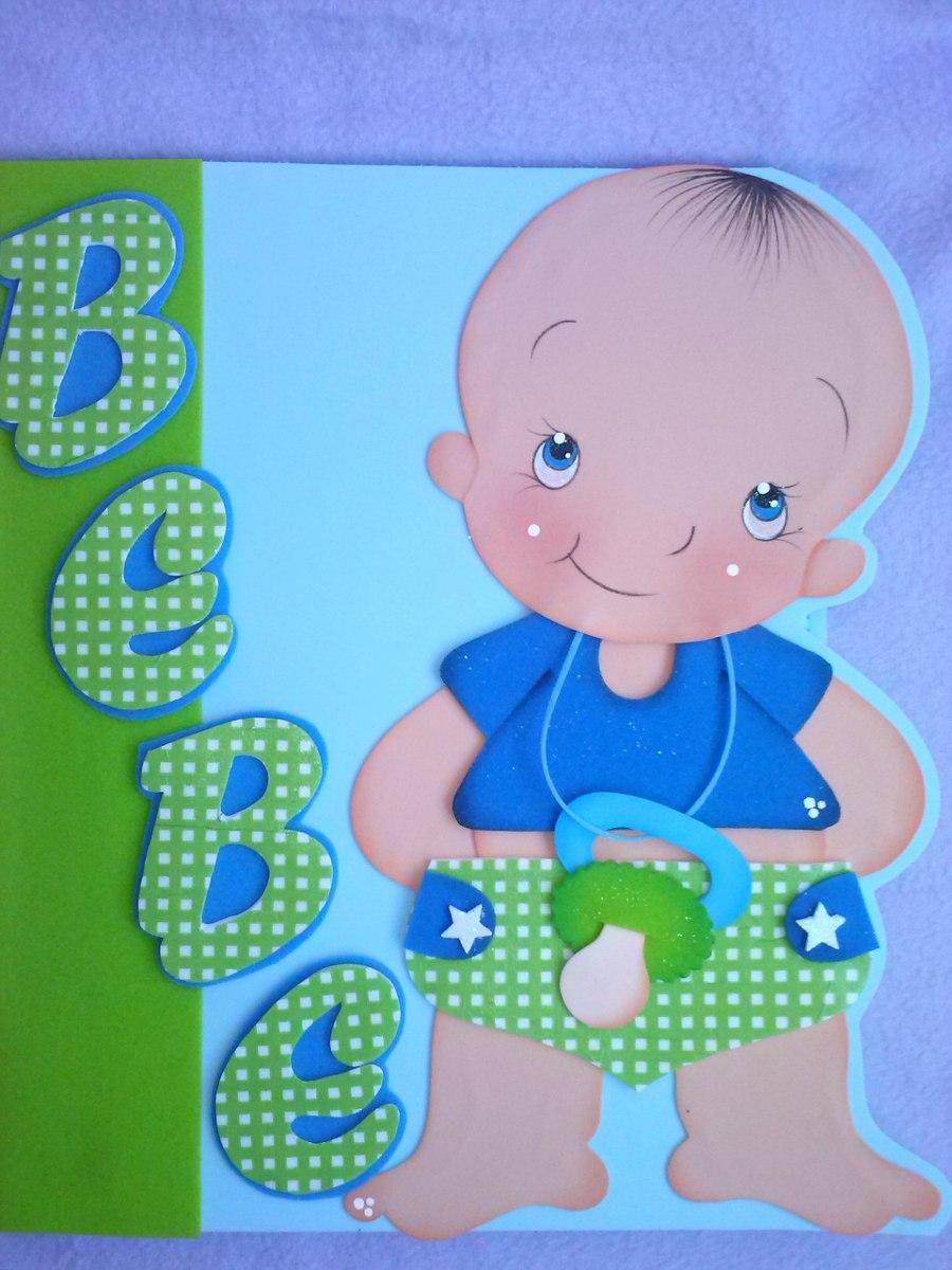 Carpetas para el control prenatal e infantiles en foami - Decoracion goma eva infantil ...