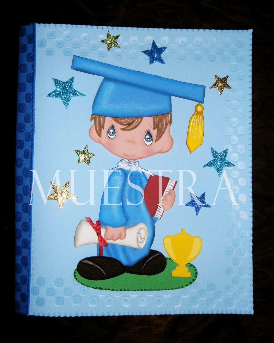 Carpetas Y Maletines Graduación Niños Niñas Graduados Foami - Bs ...
