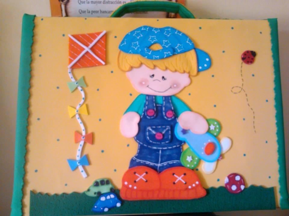 Carpetas Portafolios Decoradas En Foami - Bebés en Mercado Libre ...