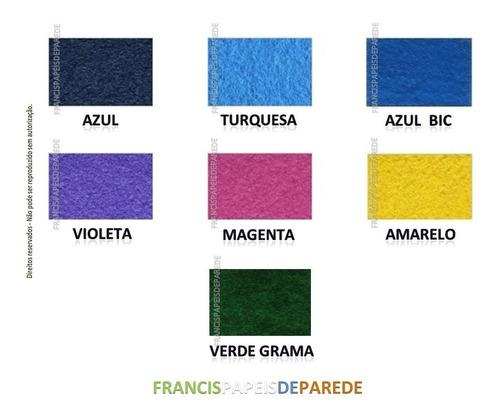carpete cores turquesa forração festa casa escritório