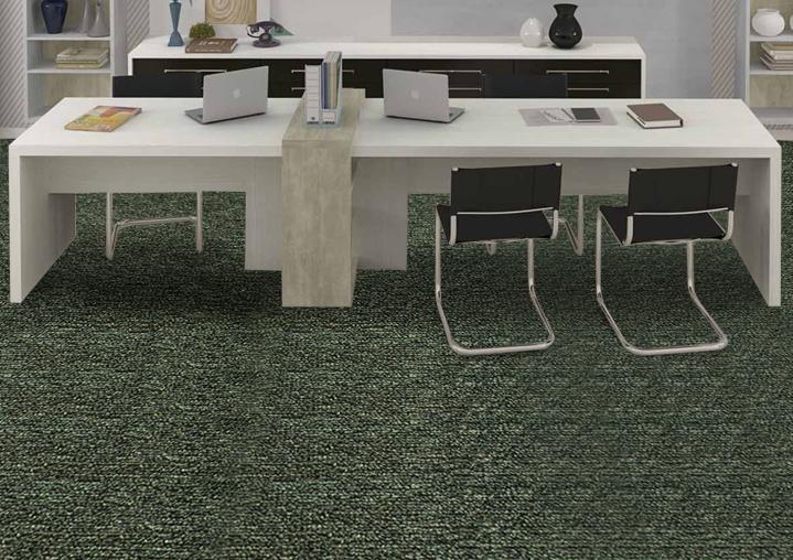 carpete frontier bouclê c/ 6 mm - colocado valor do m²